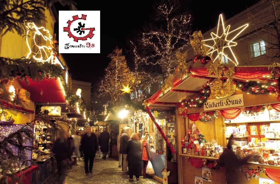 28 декабря - Рождественский рынок в Генератор 9.8!