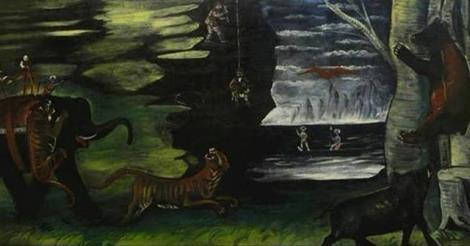 """""""Охота в Индии"""" представлена общественности в Музее искусств Шалвы Амиранашвили"""