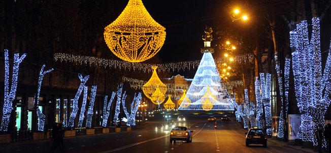Новогодний Тбилиси