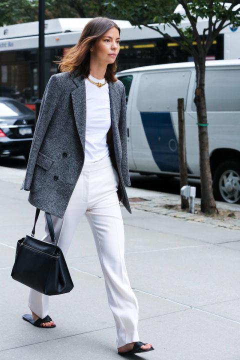 Стрит фэшн: весенние идеи на Неделе моды в Нью-Йорке