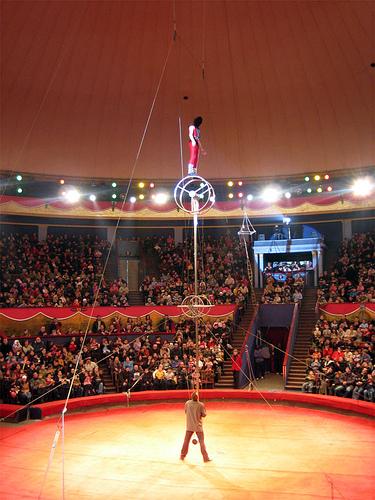 Новогоднее шоу в Тбилисском цирке