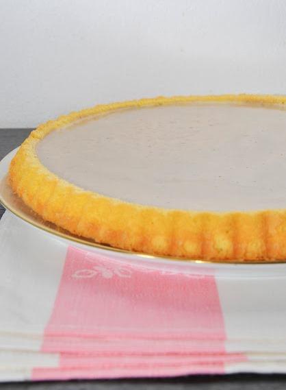 Генуэзский бисквит с баварским и апельсиновым кремом