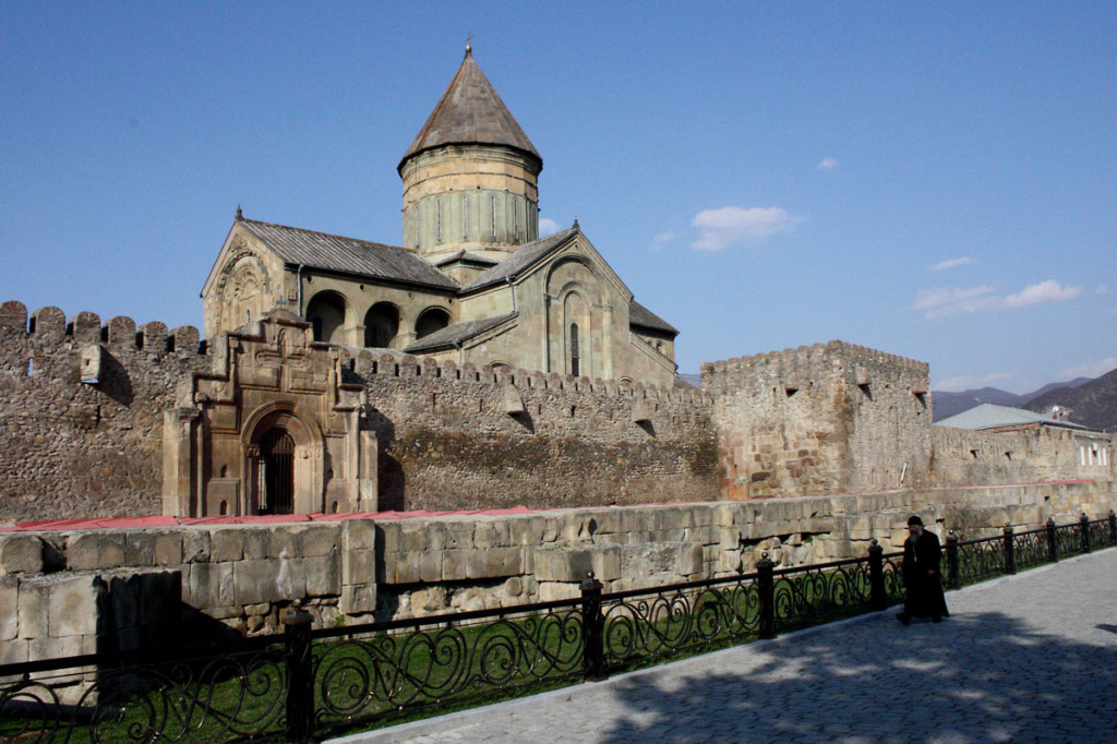 Places to visit: Mtskheta, Jvari monastery and Svetitskhoveli Cathedral