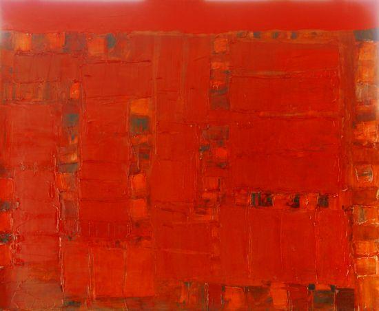 Ландшафт в красном