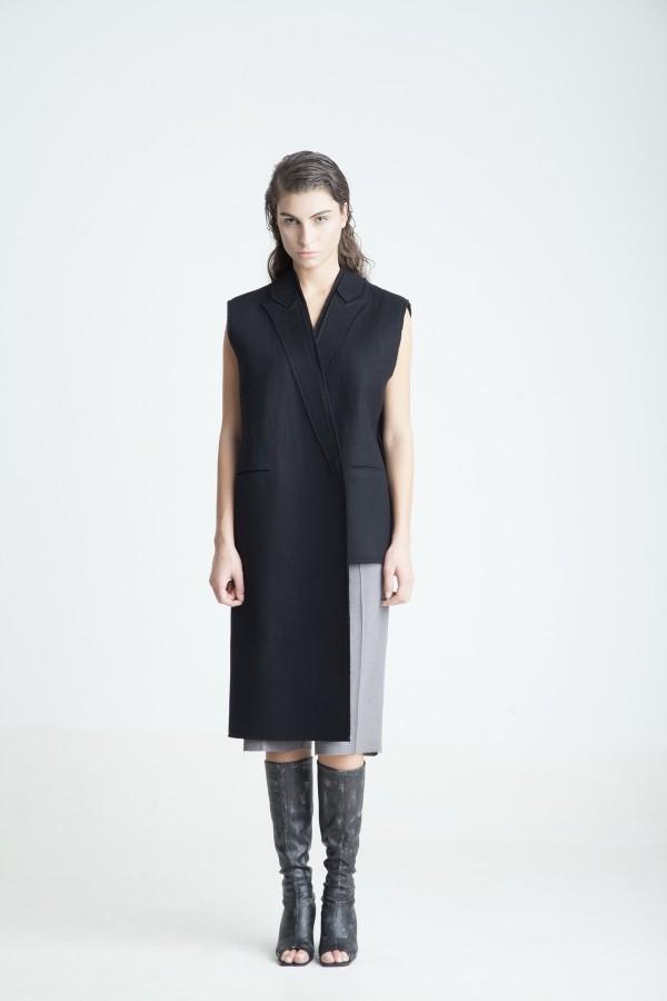 Осенне-зимний лукбук Георгия Кебурия для модного дома Materiel