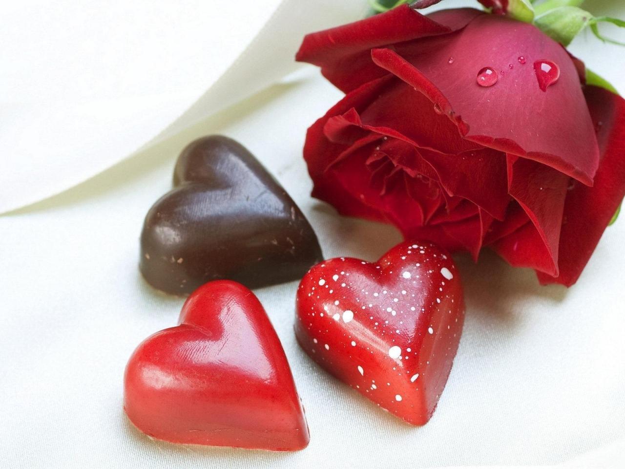 Цветы, чтобы выразить свою любовь, в день святого Валентина