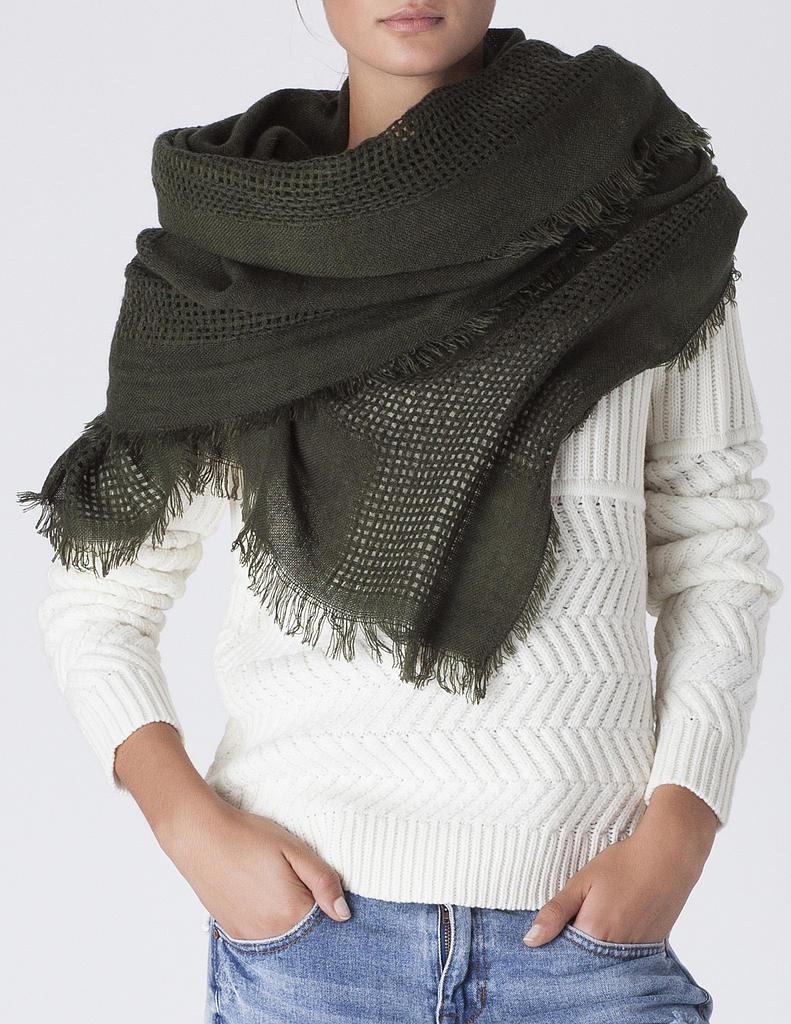 Самый модный аксессуар осенне-зимнего сезона 2014 - шарф