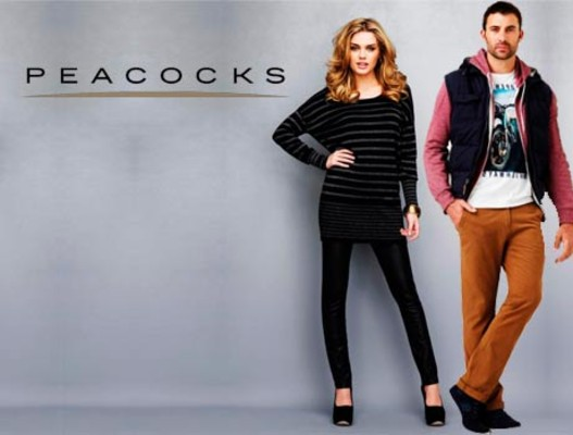 Peacocks clothing stores