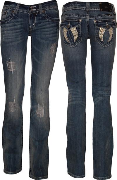 Women Boot Cut Jeans