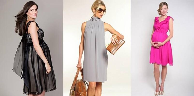 Какие платья носить беременным фото 95