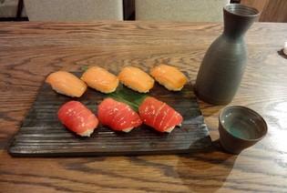 Sake sushi bar    (G. Akhvlediani St.)